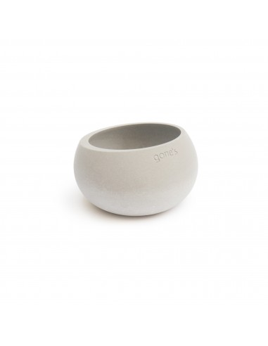 BRUT candle holder natural mineral écological  concrete made in France Gone's
