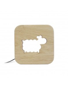 Nightlight kids Sheep - Blumen