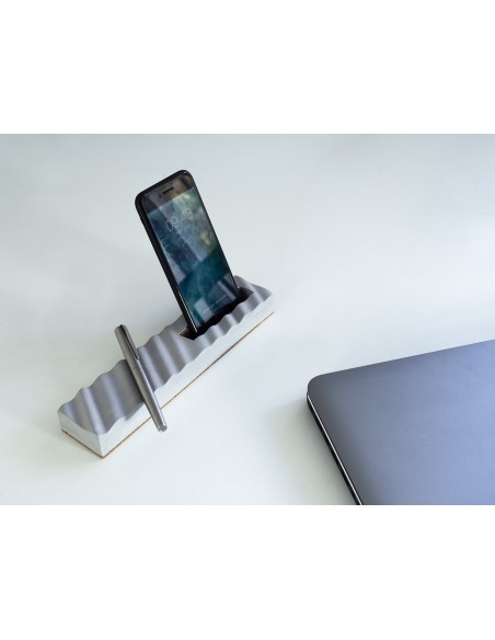 Concrete smartphone holder made in France ONDE Gone's