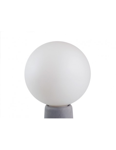Big bulb for the design concrete light PHARE